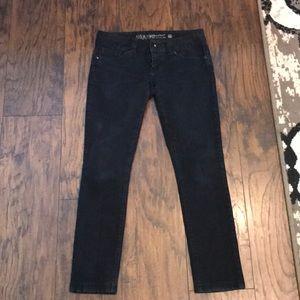 """Guess """"Daredevil"""" Black Skinny Leg Jeans"""